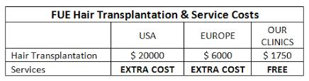hair transplant costs in the philippines hair transplant hair transplantation