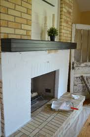 how to paint a brick fireplace laboratorioc3masd co