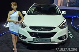 hyundai tucson 2014 hyundai tucson facelift makes debut at klims13