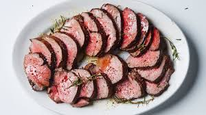 roast beef tenderloin with garlic and rosemary recipe bon appetit
