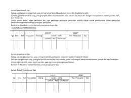 format buku jurnal penerimaan kas kas dan rekonsilasi bank ppt download