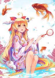 ibuki suika suika ibuki touhou zerochan anime image board