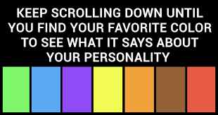 what does your favorite color say about you find out what psychologists say your favorite color says about you