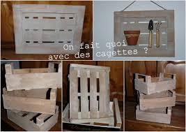 Recyclage Cagette Bois Chambre Cagette En Bois Deco Deco Cagette En Bois Sur A Little