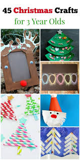 45 christmas crafts for 3 year olds craft preschool christmas