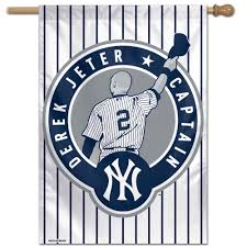 New York Giants Flag New York Yankees Wincraft Derek Jeter Number Retirement 28 U0027 U0027 X 40