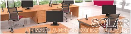 Office Desks Next Day Delivery Next Day Delivery Solar Desks Category Office Desks