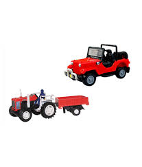 mahindra jeep classic price list centy centy pack of 2 mahindra classic jeep and tractor with