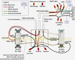 ceiling fan wall switch wiring diagram to light endearing