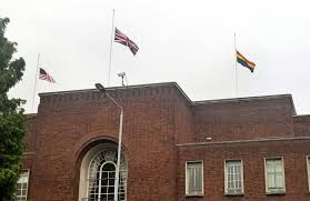Why Are The Flags Flying Half Mast Flags At Half Mast Over Town Hall After Florida Terror Shooting Lbhf