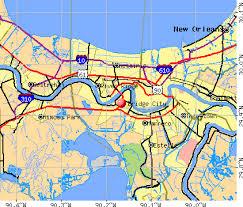 louisiana elevation map bridge city louisiana la 70094 profile population maps real