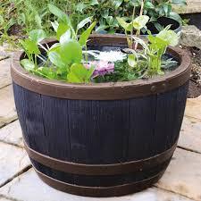 blenheim half barrel stewart garden