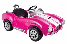 pink cars amazon com kid motorz shelby cobra one seater ride on pink white