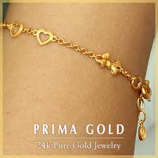 women bracelet heart images Prima gold japan rakuten global market solid gold bracelet jpg