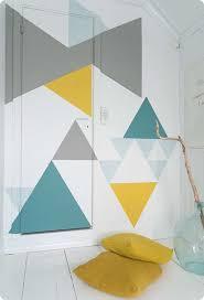 10 fun feature walls tinyme blog stunning geometric walls tinyme blog