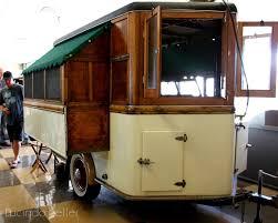 cobalt violet vintage trailer camper show