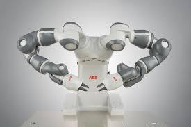 irb 14000 yumi industrial robots robotics abb design