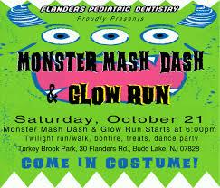 monster mash halloween monster mash dash u0026 glow run mt olive recreation
