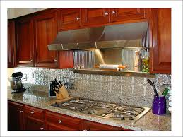 kitchen galvanized metal backsplash faux tin ceiling tiles metal