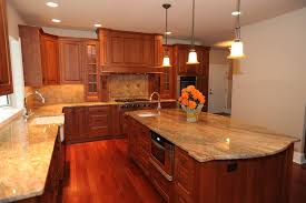 Granite Countertops With Cherry Cabinets Brazilian Cherry Floor And Cherry Kitchen Cabinets Google Search