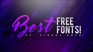 best free best free fonts to use for thumbnails banners logos more