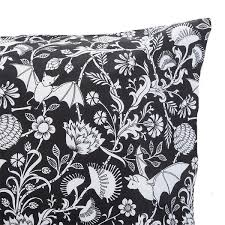 Black And White Tree Comforter Gothic Bedding And Decor Dark Glamor By Sin In Linen