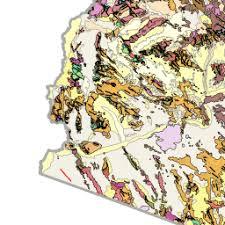map of az geologic map of arizona