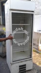Glass Display Cabinet Johor 2 0m 1 Door Glass Display Chiller Tf170 Professional Business