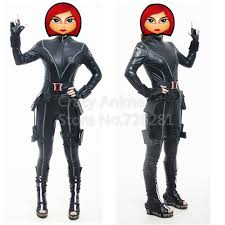 Marvel Female Halloween Costumes Avengers Black Widow Costume Picture Detailed Picture