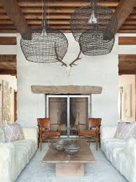Rustic Chic Living Room by Rustic Chic Revival In Classic Cabin With Eclectic Details