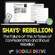articles of confederation shays u0027 rebellion by asocialstudieslife