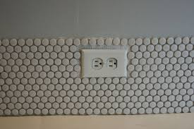 remodelaholic tips for installing penny tile backsplash diy penny tile backsplash installing how