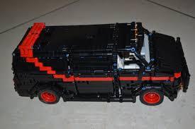 vauxhall lego lego moc 5945 a team van technic 2016 rebrickable build with