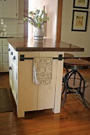small kitchen island ideas with seating cream white hardwood floor