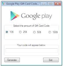 gift card generator apk play gift card generator apk generators plays and gift
