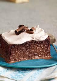 triple chocolate tres leches cake u2013 according to the recipe name