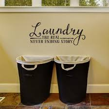 laundry the real never ending story laundry room wall decal zoom