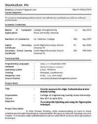 resume for freshers uxhandy com