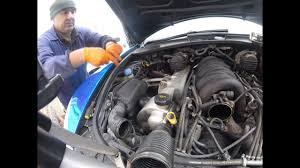 Porsche Cayenne Coolant Pipes - removing and reinstalling the starter for porsche cayenne youtube