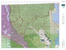 Washington State Topographic Map by Wa Gmu 203 Pasayten Map Mytopo