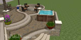My Patio Design New Allan Block Pit Fabulous Seating Wall Ideas For Your
