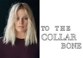just below collar bone blonde hair styles what you want blunt collarbone length hair medium hair styles
