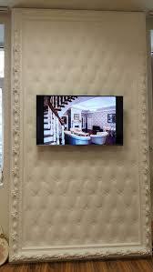 ornamental plaster works decoration of show room in riga latvia