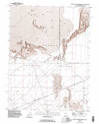 Map Of Colorado And Utah by Dugway Proving Ground Ne Topographic Map Ut Usgs Topo Quad 40113b1