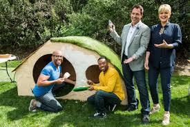 how to diy hobbit hole playhouse home u0026 family hallmark channel