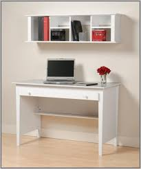 White Wooden Computer Desk Selena White Computer Desk With Hutch Desk Home Design Ideas