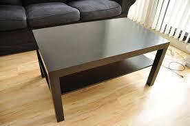 pleasant ikea black brown coffee table for interior home ideas