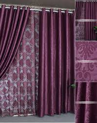 Thermal Energy Curtains And Energy Saving Curtains And Drapes In Purple Color