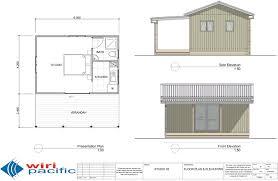 studio kitset homes wiri pacific plans elevations and artist