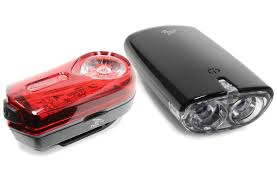 fwe battery light set 100 20 lumen bike lights cycles